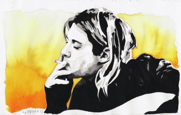 Kurt Cobain par Estherproductos